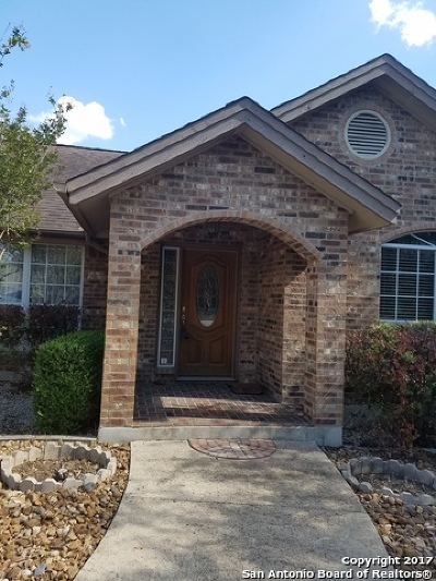 Canyon Lake Single Family Home New: 145 Schlamp Bay