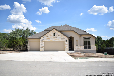 Boerne Single Family Home New: 26923 Sage Creek