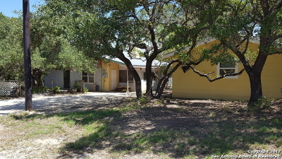 Canyon Lake Single Family Home New: 122 Sun Beam