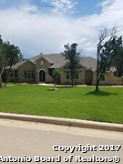 New Braunfels Single Family Home For Sale: 26118 Rockwall Parkway