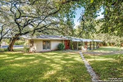 San Antonio Single Family Home New: 2860 Nacogdoches Rd