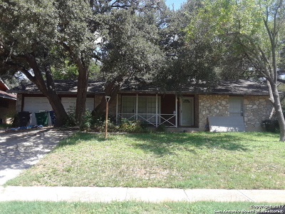 San Antonio Single Family Home Price Change: 6239 Wigwam Dr