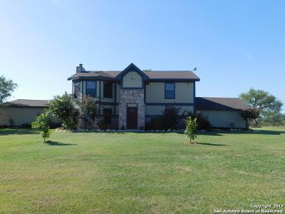 Guadalupe County Single Family Home New: 8450 Fm 775