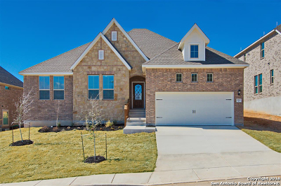 San Antonio Single Family Home New: 25923 Avellino Blf