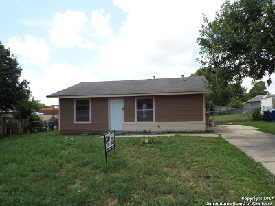 Bexar County Single Family Home For Sale: 6218 Stone Valley Dr