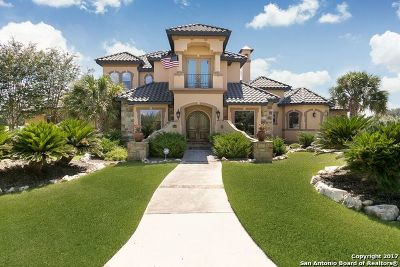Comal County Single Family Home New: 26514 Weiss Fels
