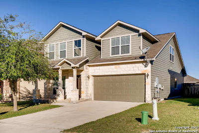 Cibolo Single Family Home New: 556 Slippery Rock