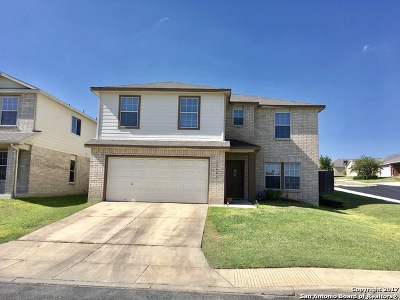 Bexar County Single Family Home New: 12603 Scarlet Sage