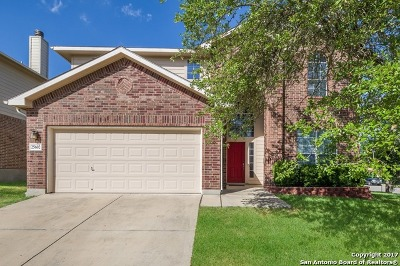 San Antonio Single Family Home New: 25602 Sophora