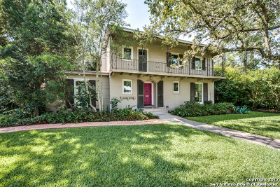 Bexar County Single Family Home New: 710 Wiltshire Ave