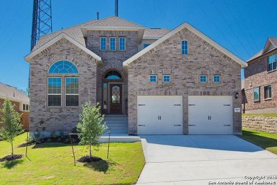 San Antonio Single Family Home New: 25927 Avellino Blf