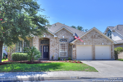 San Antonio Single Family Home New: 5118 Ashton Audrey