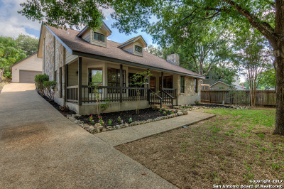 San Antonio Single Family Home New: 15615 Powder River St