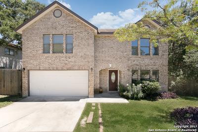 San Antonio Single Family Home Back on Market: 15730 Walnut Creek Dr