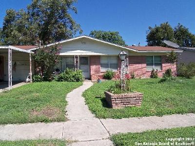 San Antonio Single Family Home New: 4707 Stoneleigh Dr