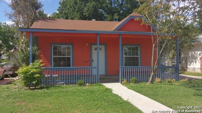 San Antonio Single Family Home New: 523 Bailey Ave