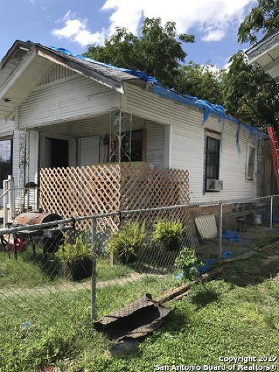 San Antonio Single Family Home New: 111 Fredonia St