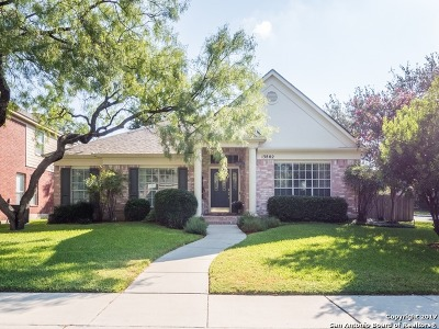 San Antonio Single Family Home New: 13802 Shavano Glenn