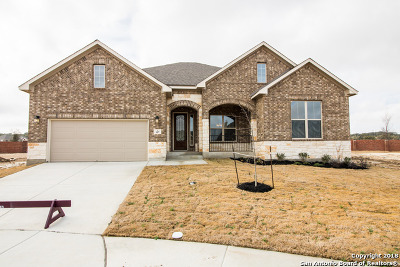 Boerne Single Family Home New: 107 Ravencrest