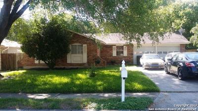 San Antonio Single Family Home New: 12022 El Sendero Dr