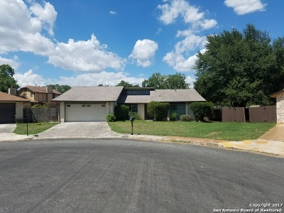 San Antonio Single Family Home New: 9530 Dunhill