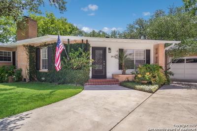 San Antonio Single Family Home New: 2420 W Summit Ave