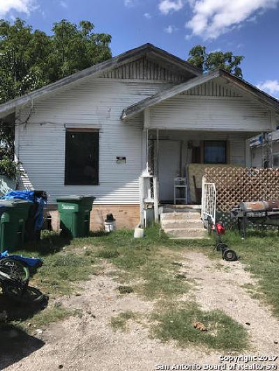 San Antonio Single Family Home New: 109a Fredonia