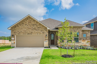 Boerne Single Family Home New: 113 Telford Way