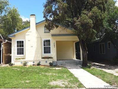 San Antonio Single Family Home New: 1243 Avant Ave