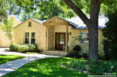 Alamo Heights Single Family Home New: 210 College Blvd