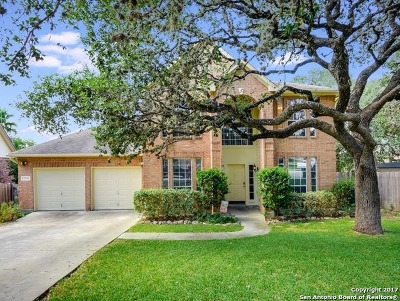 San Antonio Single Family Home New: 21511 Bubbling Crk
