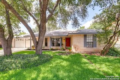 San Antonio Single Family Home New: 8938 Hetherington Dr