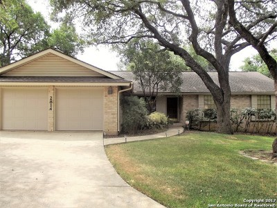 San Antonio Single Family Home New: 2814 Oak Leigh St