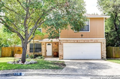 San Antonio Single Family Home New: 8201 Bluff Bend Dr
