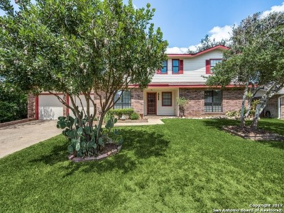 San Antonio Single Family Home New: 18034 Summer Knoll Dr