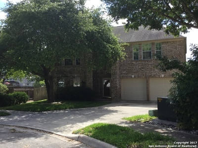Schertz Single Family Home New: 1643 Bold Cypress