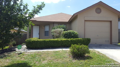 San Antonio Single Family Home Back on Market: 9603 Arcade Rdg