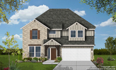 San Antonio Single Family Home New: 25939 Avellino Blf