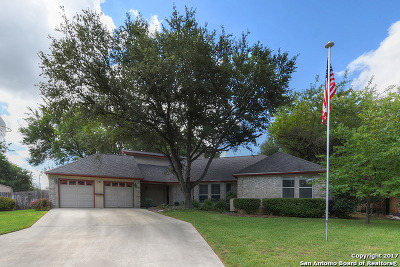 Comal County Single Family Home New: 210 Preston Holw