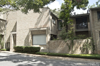 Bexar County Condo/Townhouse For Sale: 5 Gallery Ct #5