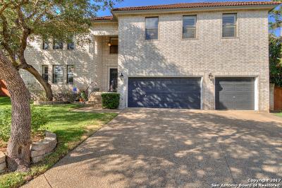 San Antonio Single Family Home New: 13207 Creek Mist