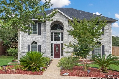 San Antonio Single Family Home New: 25019 Earthstone Dr