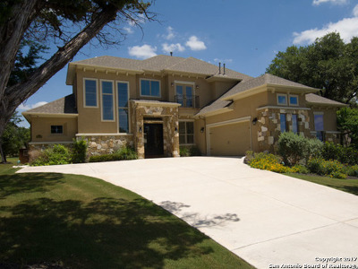 San Antonio Single Family Home New: 26002 Tivoli Mdw