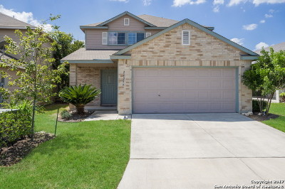 San Antonio Single Family Home New: 24259 Saffron Plum