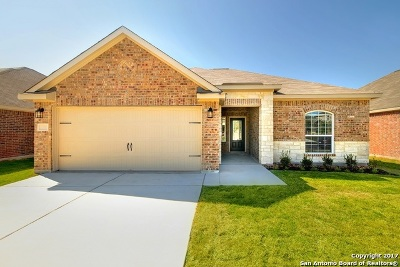 Comal County Single Family Home New: 6187 Poinsettia