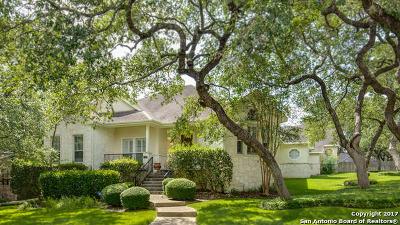 San Antonio Single Family Home New: 1318 Hawks Mdw