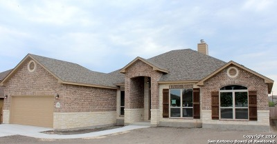 Guadalupe County Single Family Home New: 2250 Sun Rim Way