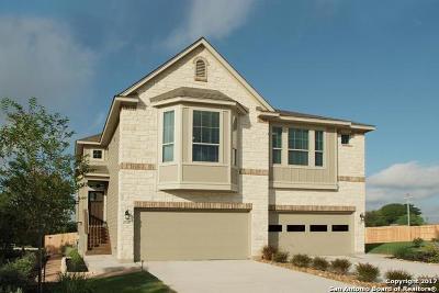 San Antonio Single Family Home New: 17419 Moscato