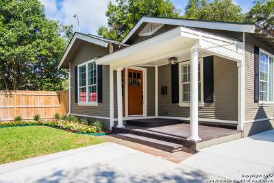San Antonio Single Family Home New: 725 E Magnolia Ave
