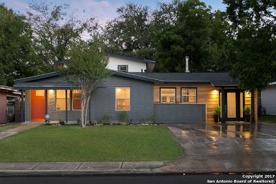 San Antonio Single Family Home New: 222 Dresden Dr